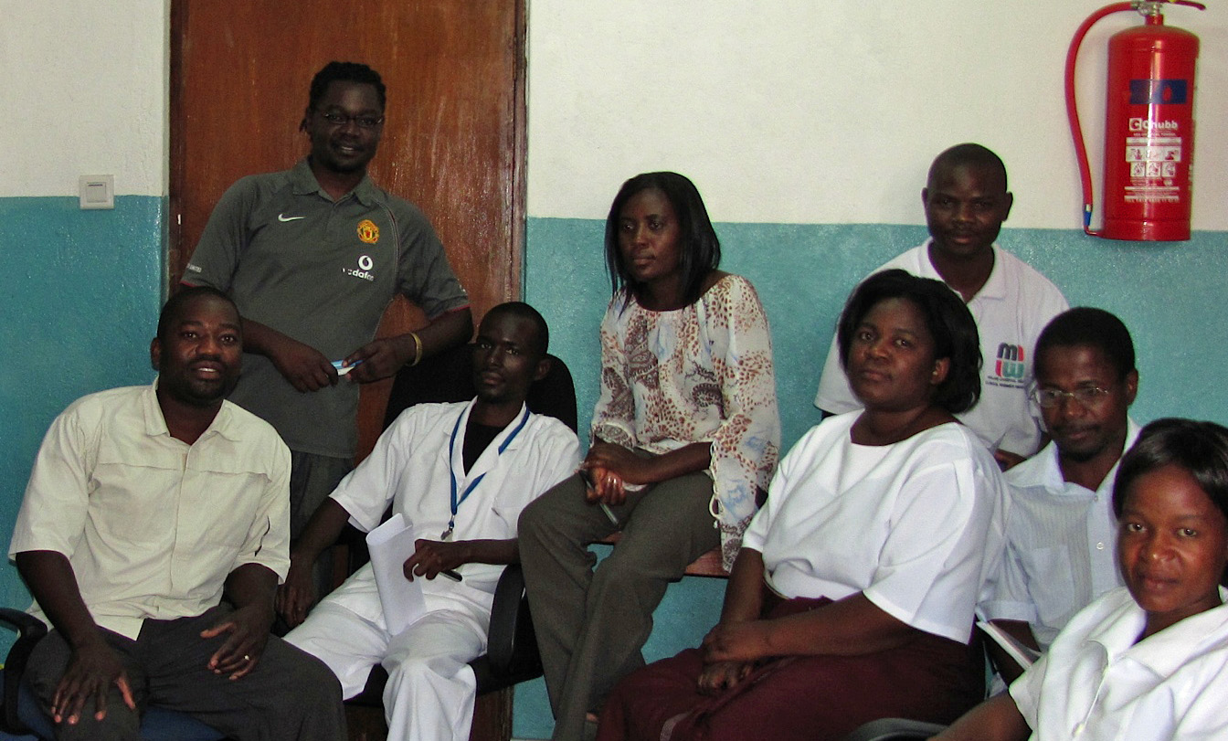 Project Staff from Harold Ocholla's PhD Project