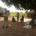 Filming in Tororo district, Uganda