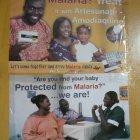 Malaria public health poster, Ghana