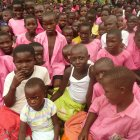 Children from Mulanda Primary School, Tororo District