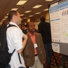 Jovin presenting a poster at ASTMH 2012
