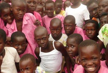 Primary School Children from Mulanda Primary School, Uganda