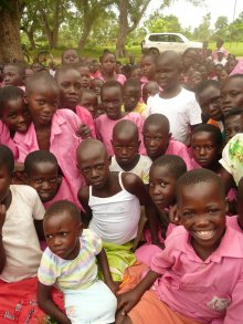 Primary School Children from Mulanda Primary School, Uganda