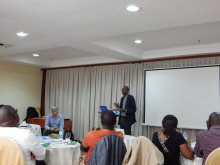 Quilibra delivering the 2nd workshop in Arusha, Tanzania