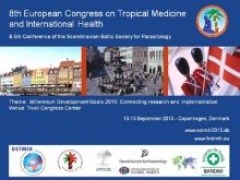 Flyer for 8th European Congress on Tropical Medicine and International Health