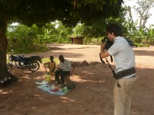 Filming in Chikwawa district