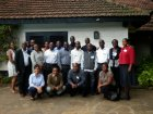 Participants at the Inaugural MCDC Career Development Groups Meeting, Nairobi